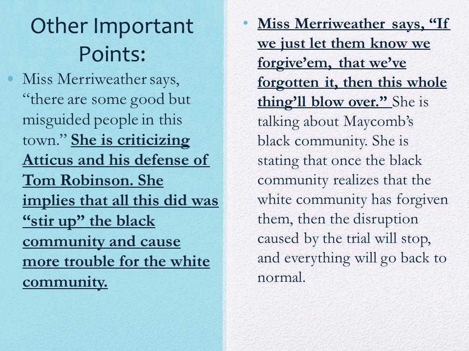 to kill a mockingbird mrs merriweather