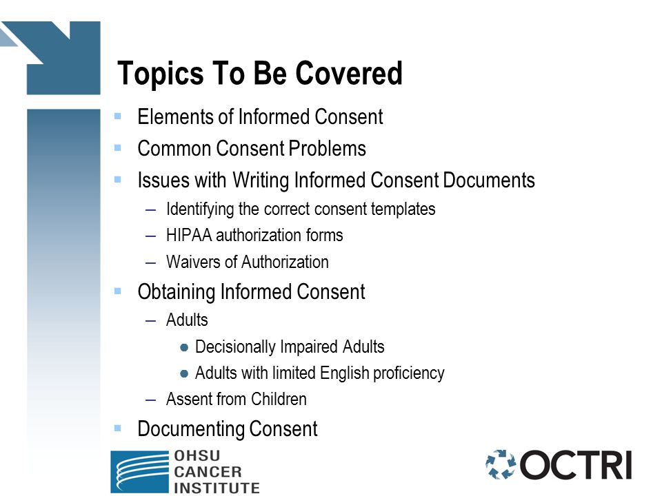 Informed Consent Process For Research Coordinators Ppt Download - Informed consent process documentation template