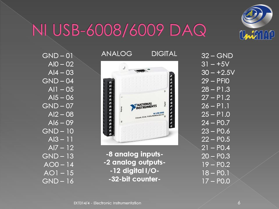 Usb 6008 Wiring Diagram - Well Detailed Wiring Diagrams •