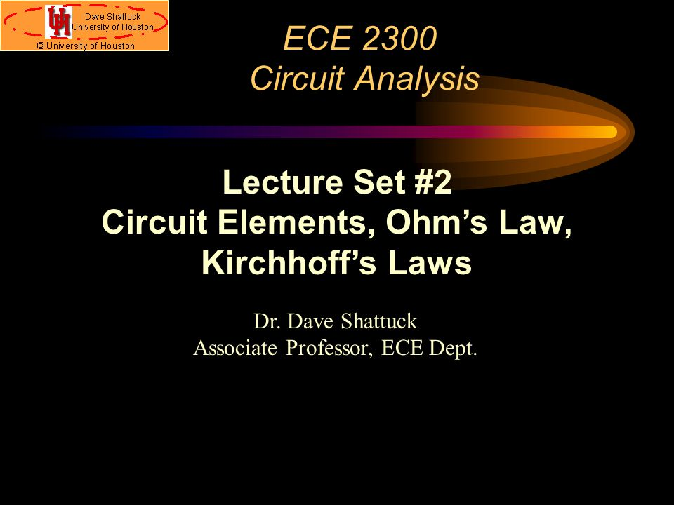 circuit elements ohm s law kirchhoff s laws ppt download rh slideplayer com