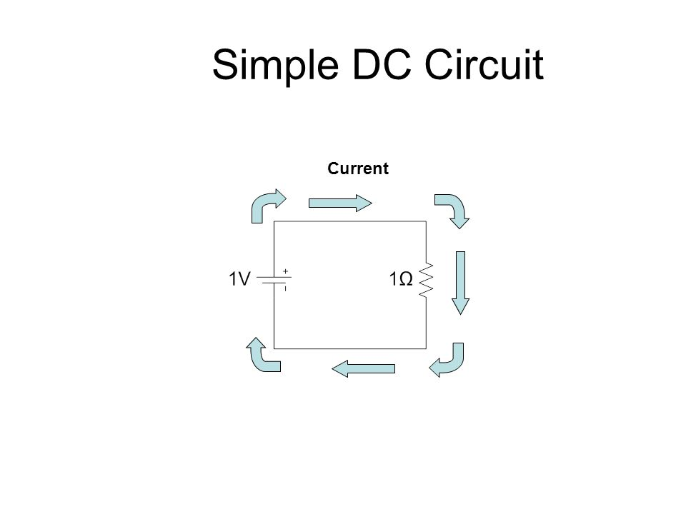 Simple Dc Circuit Diagram - Wiring Diagrams List on