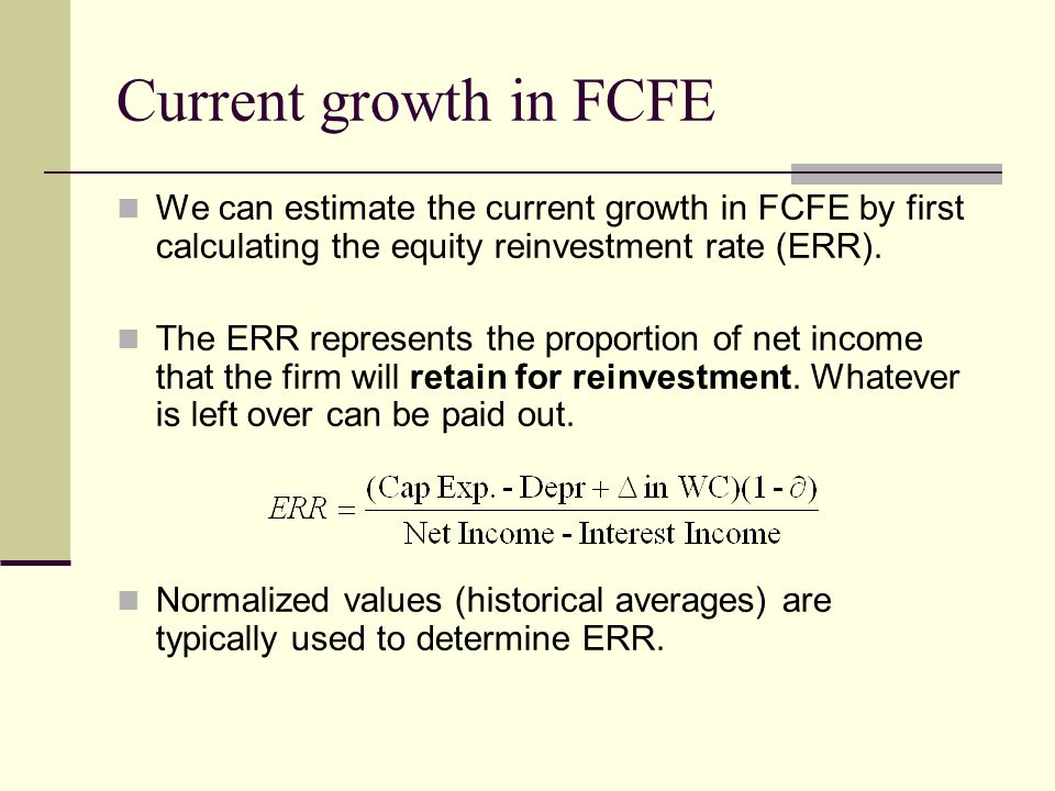 damodaran reinvestment rate equation