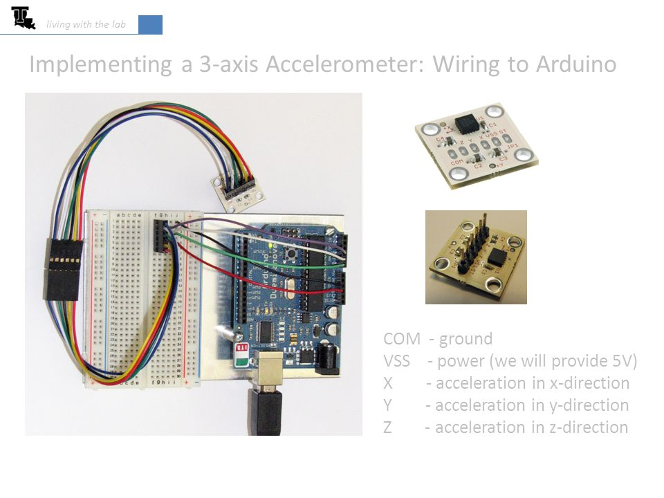 Acquiring Data from Accelerometers - ppt video online download