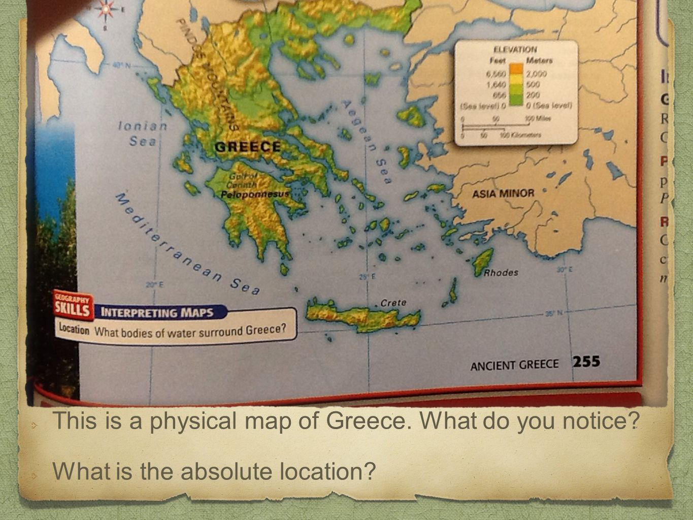 Geography of Ancient Greece - ppt video online download