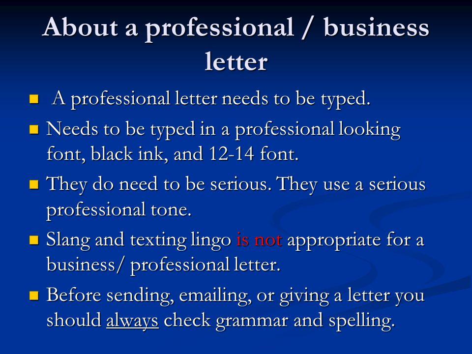 Friendly letters vs  Business letters - ppt video online