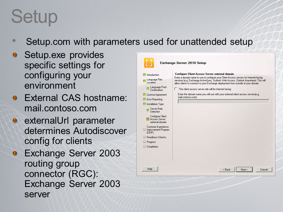 Exchange Deployment Planning Services - ppt download