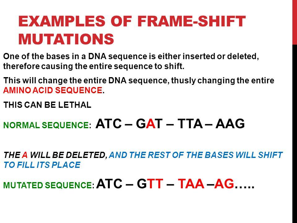 Dna Mutations Genetics Ppt Download