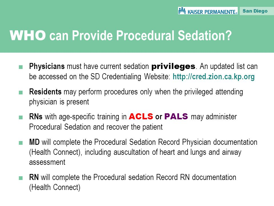 What Is Procedural Sedation Ppt Download
