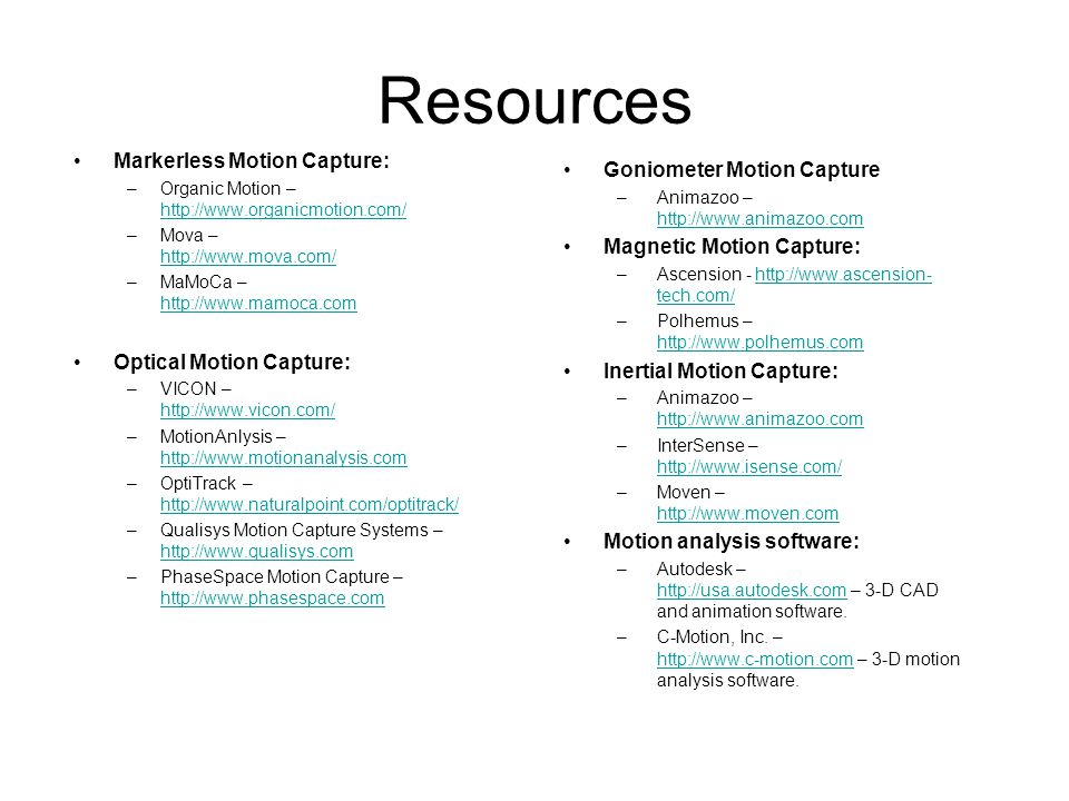 Motion Capture: History, Approaches, Applications, and