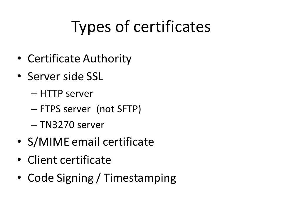 Digital Certificates Principles Of Operation Ppt Video Online Download