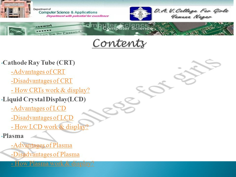 CRT MONITOR cathode-ray tube - ppt video online download