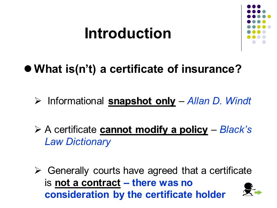 Certificates Of Insurance Ppt Video Online Download