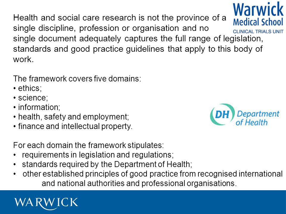 Health and social care research is not the province of a