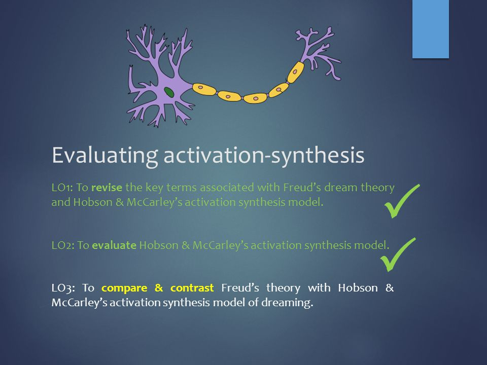 the activation-synthesis hypothesis of dreaming is based on the belief that
