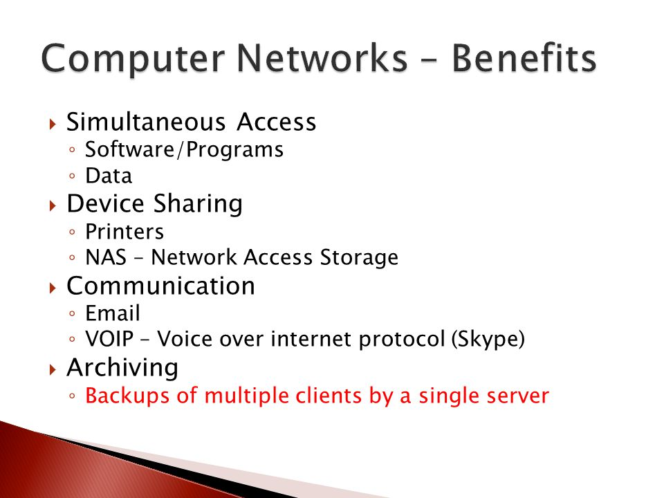 What is a Network? In information technology, a network is a