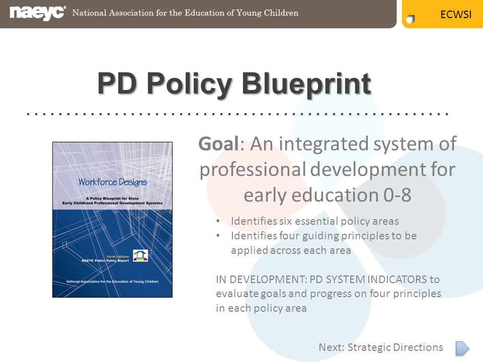 What do we mean when we talk about pd ppt video online download pd policy blueprint goal an integrated system of malvernweather Gallery