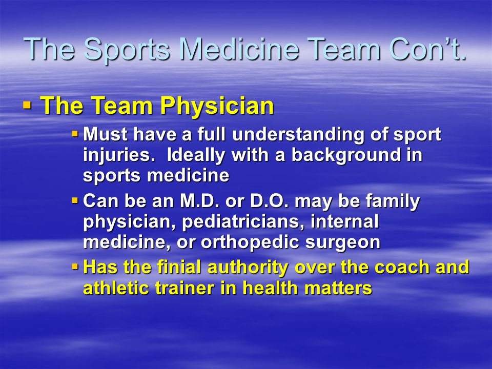 History of Sports Medicine - ppt download