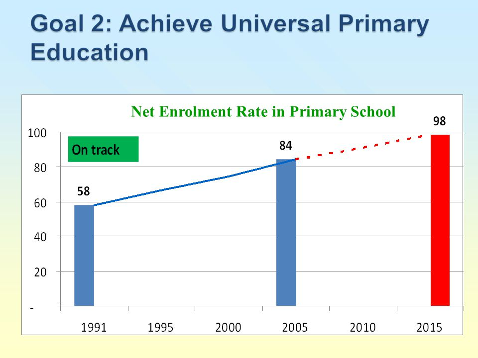 Net Enrolment Rate in Primary School