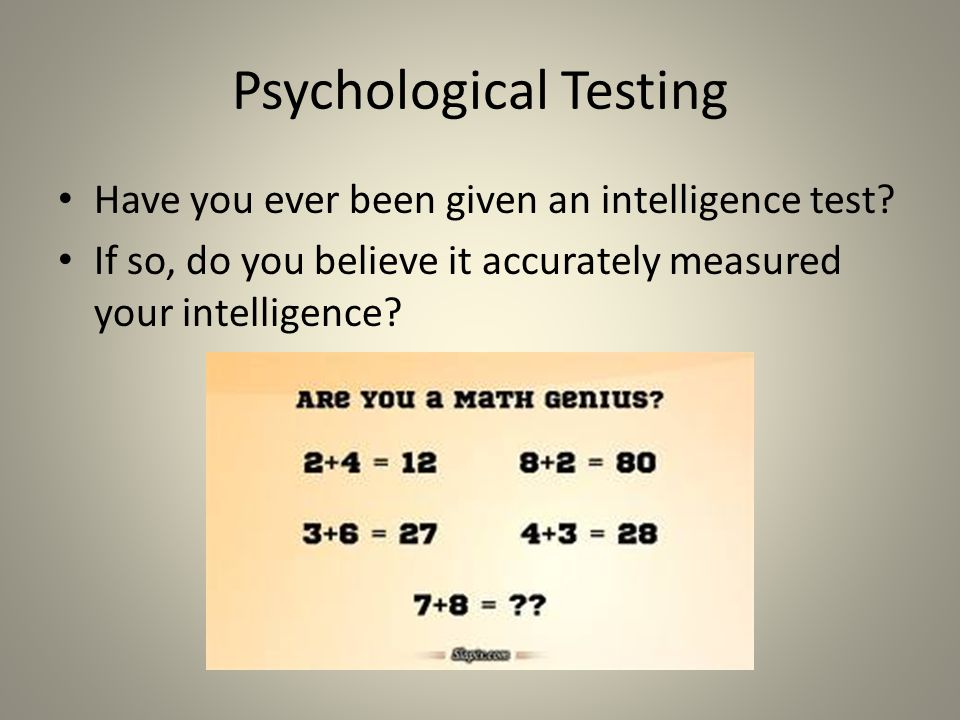 Characteristics of Psychological Tests - ppt video online
