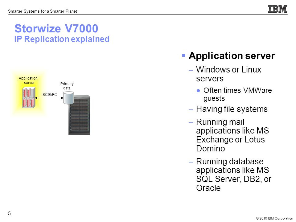 Storwize V7000 IP Replication solution explained - ppt video