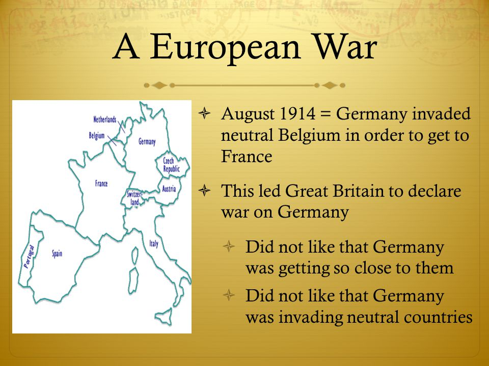 Image result for british declaration of war against germany 1914