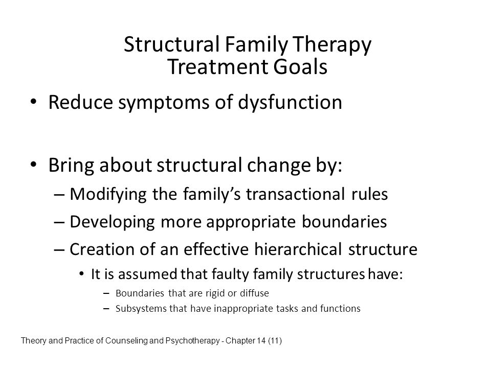 structural family counseling