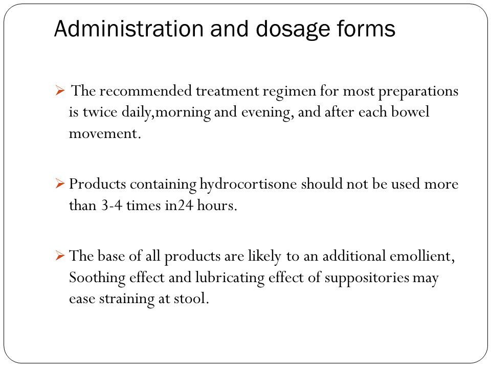 Administration and dosage forms