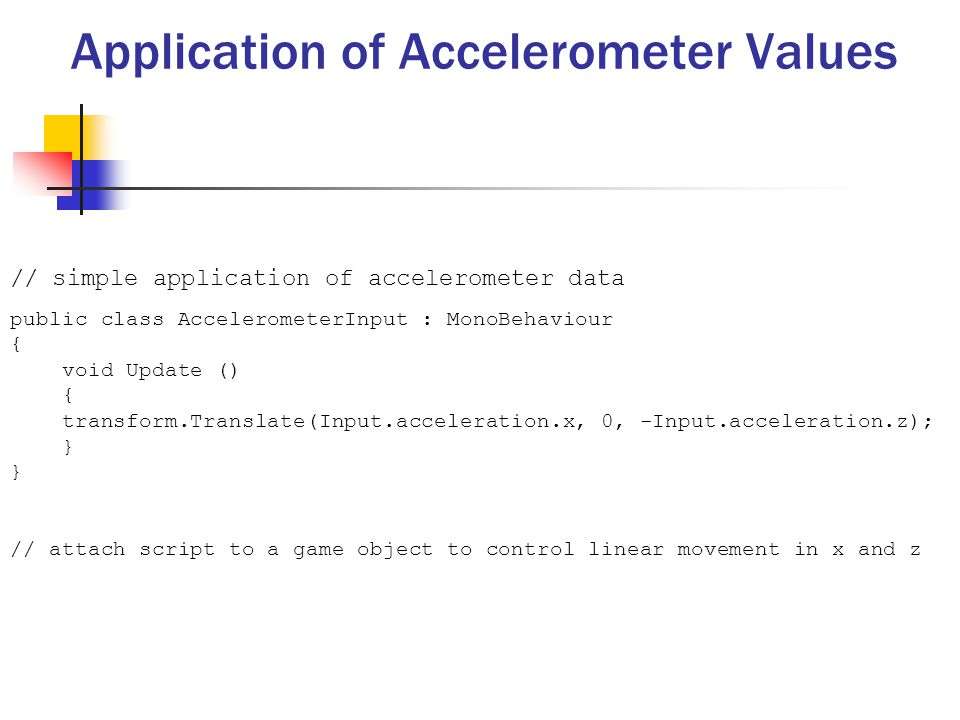 The Accelerometer and Gyroscope - ppt video online download