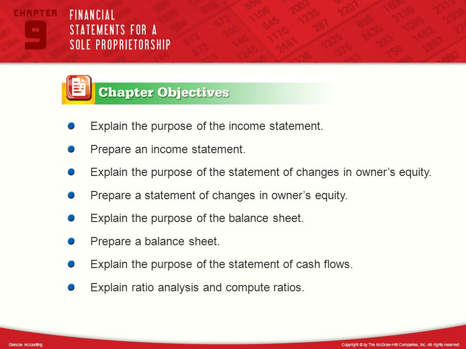 Explain the purpose of the income statement.