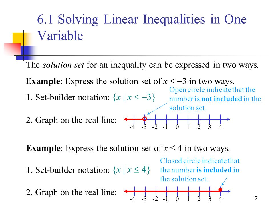 61 Solving Linear Inequalities In One Variable Ppt Video Online. 61 Solving Linear Inequalities In One Variable. Worksheet. Solving Linear Inequalities With Variables On Both Sides Worksheet At Clickcart.co