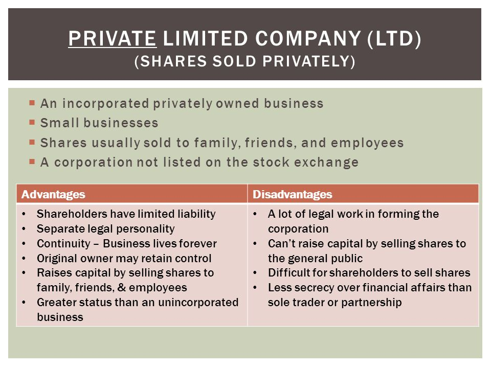 advantages and disadvantages of family owned business