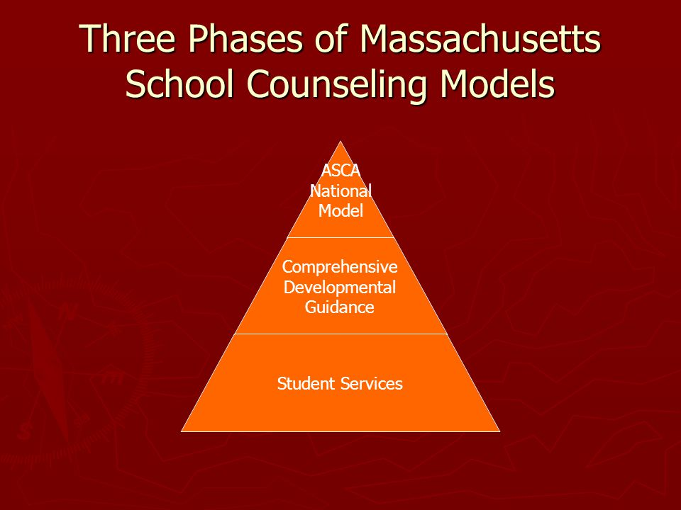 Three Phases of Massachusetts School Counseling Models