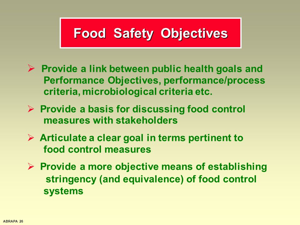 CODEX and the European Union's food safety policy - ppt download