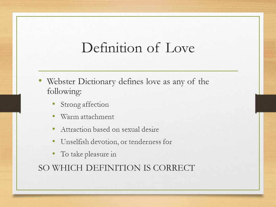 Definition infatuation what is What is
