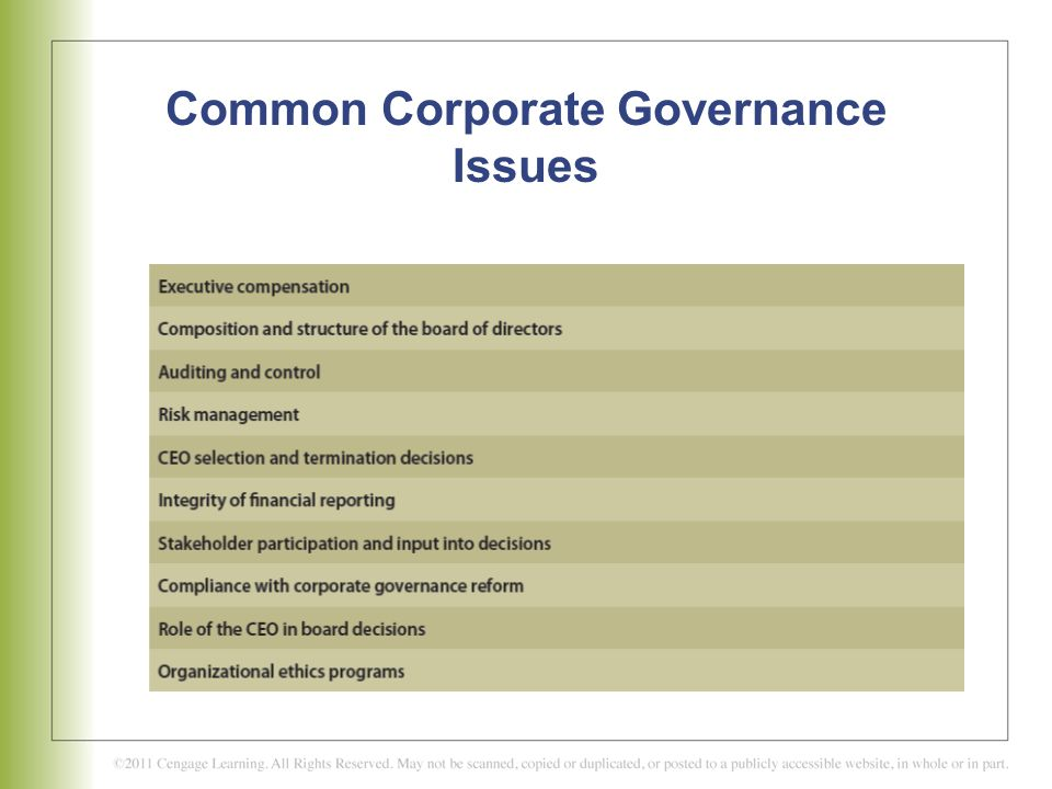 legality and ethicality of corporate governance Write a 750- to 1,050-word paper evaluating the legality and ethicality of the corporate governance activities that occurred in the scenario format your paper consistent with apa guidelines all.