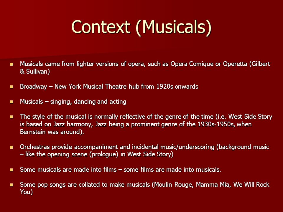 By Leonard Bernstein From West Side Story Ppt Download. Worksheet. West Side Story Worksheet At Clickcart.co