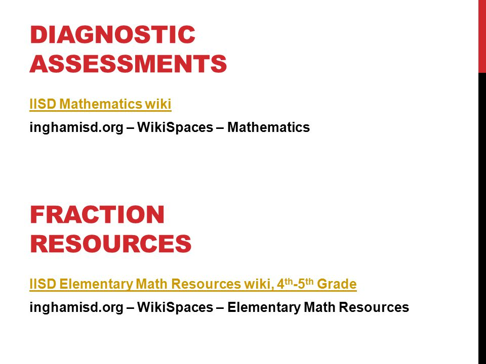 Key Strategies For Interventions Fractions Ppt Video Online Download