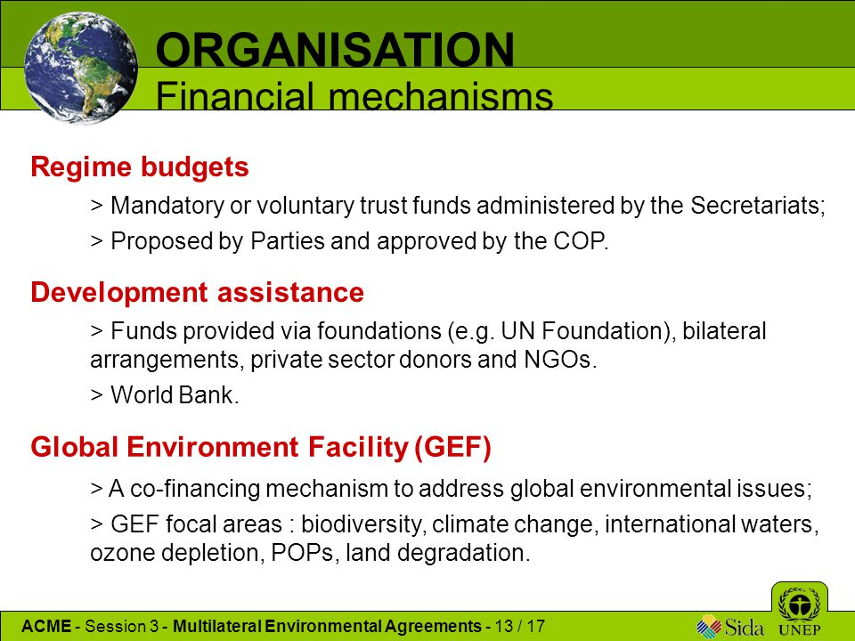 Multilateral Environmental Agreements Meas Ppt Download
