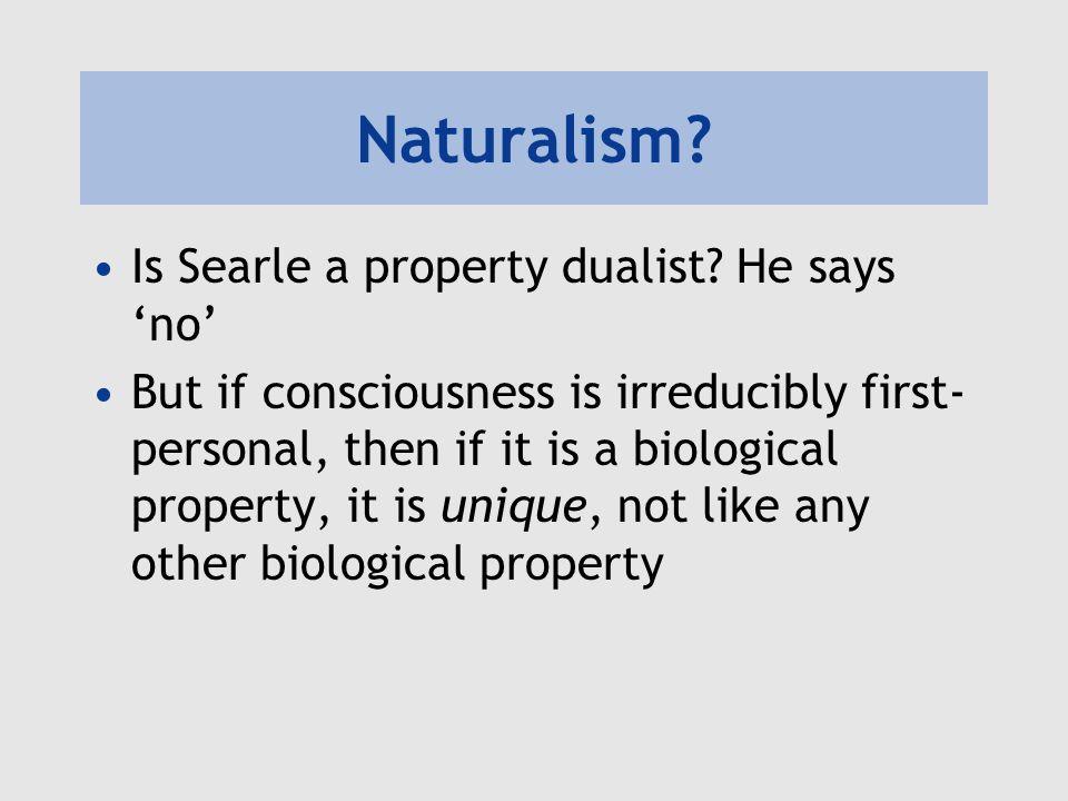 Biological naturalism