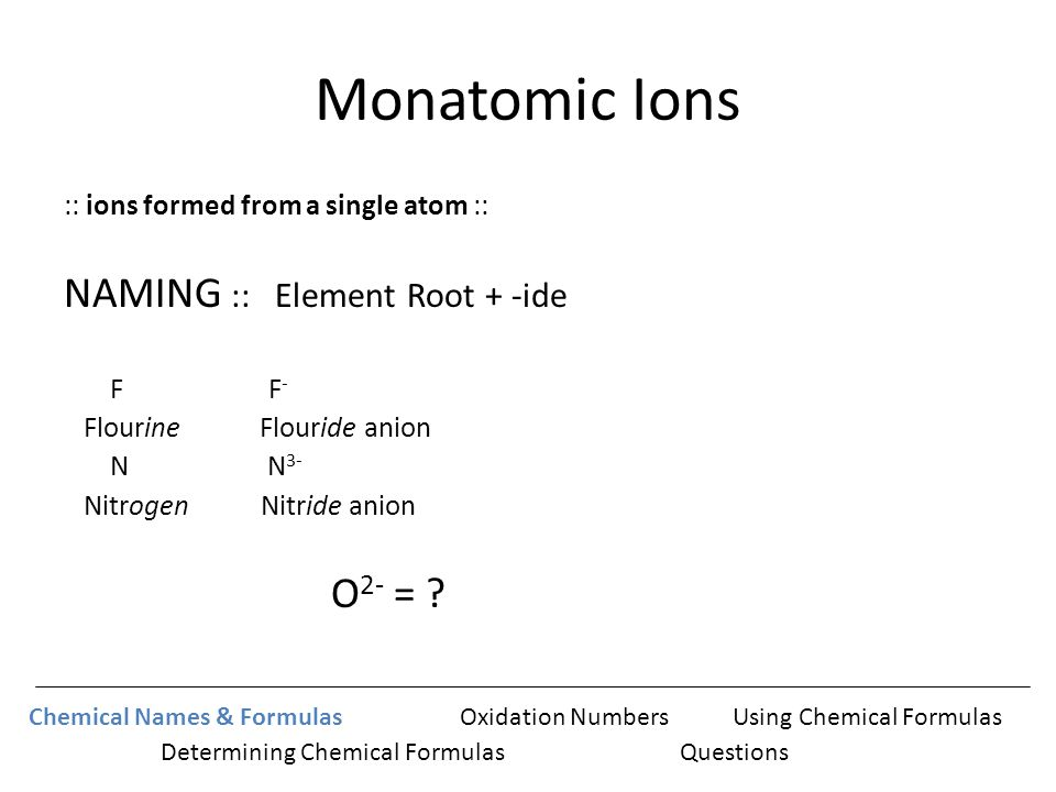 Naming, Empirical Formula, Molecular Formula and Percent ...