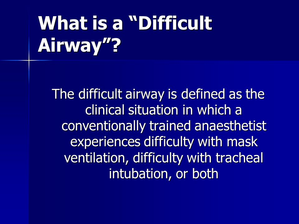 What Equipment Should Be In Your Difficult Airway Cart Ppt Video