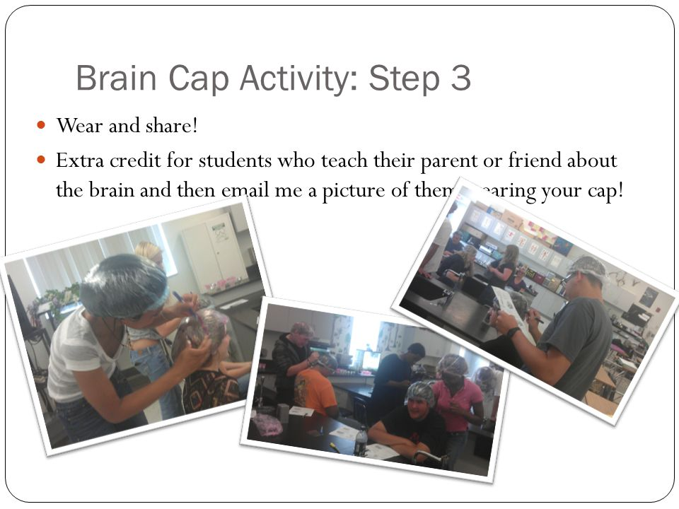 Brain Cap Activity: Step 3