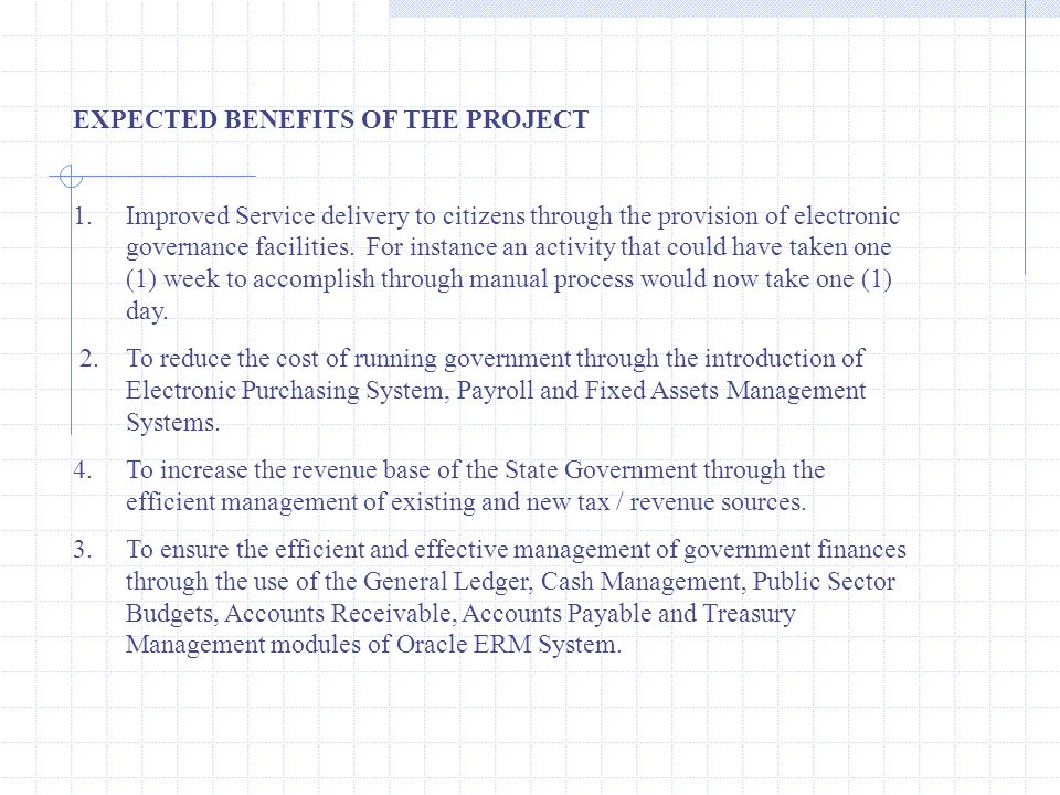 IFMIS Implementation - Lagos State Experience - ppt video online