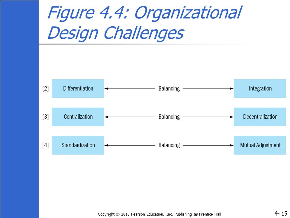 Figure 4.4: Organizational Design Challenges