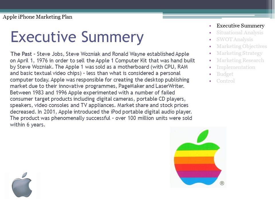 Swot Analysis Of Apple Apple Computer Inc Case Analysis Ppt