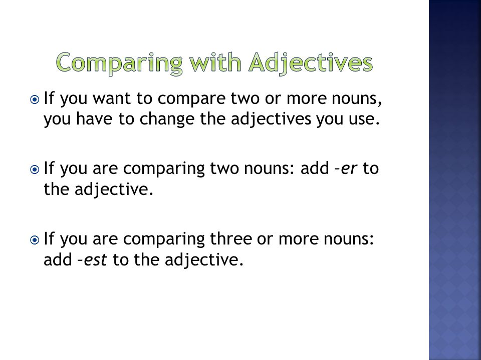 Unit 4: Adjectives What is an adjective?  - ppt download