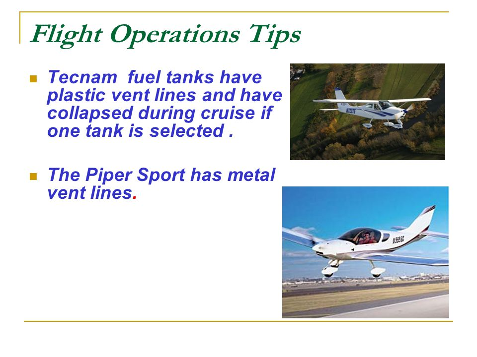 Welcome to Sport Flying - ppt video online download