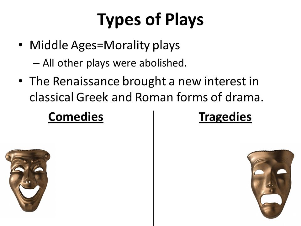 plays during the renaissance