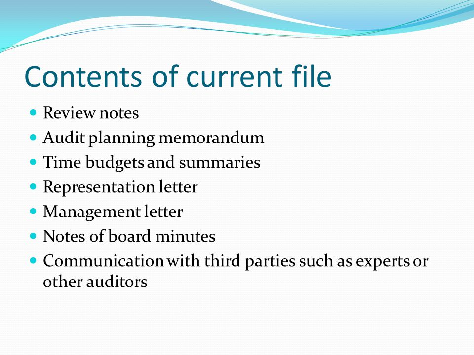 Lecture 7 Audit Documentation - ppt video online download