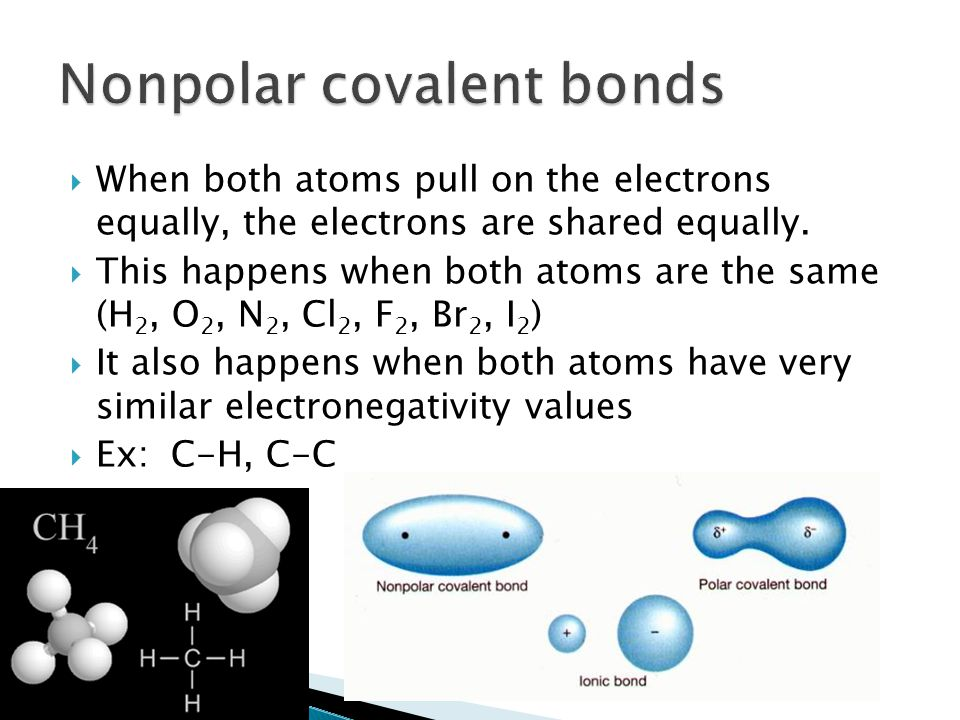 Polar And Nonpolar Covalent Bonds And Molecules Ppt Video Online